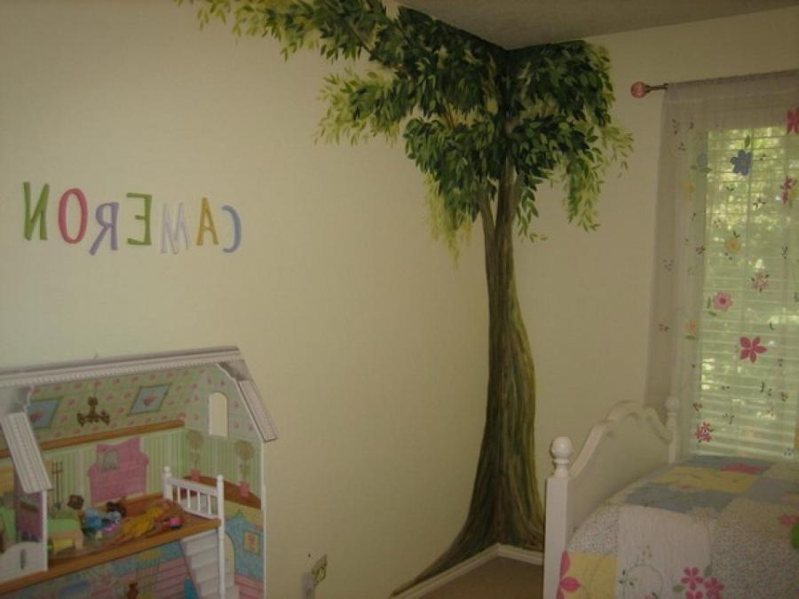 Kid mural photo room for Mural room white house