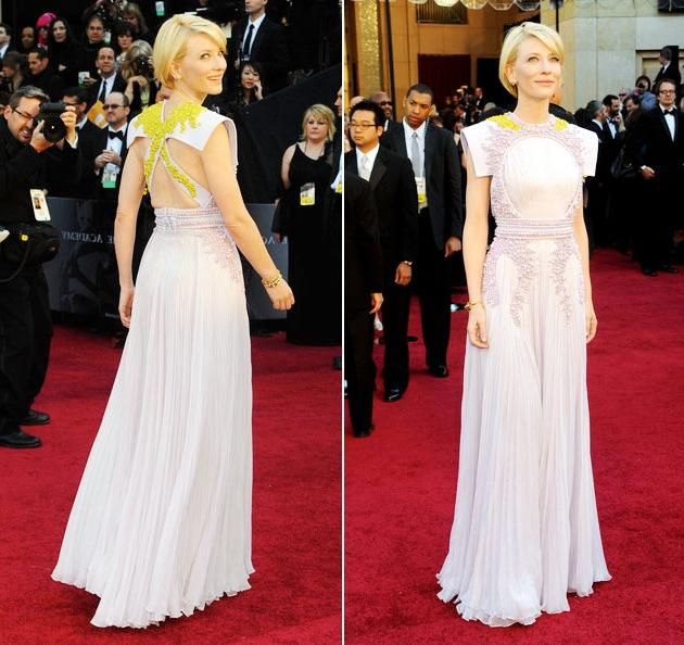 Oscars 2011 Red Carpet Cate Blanchett Wearing Givenchy Haure...