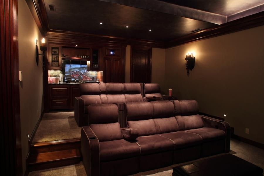 Home theatre room photos - Theater room furniture ideas ...