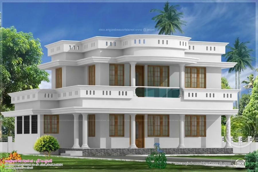 Indian house exterior photos for Indian villa designs exterior photos