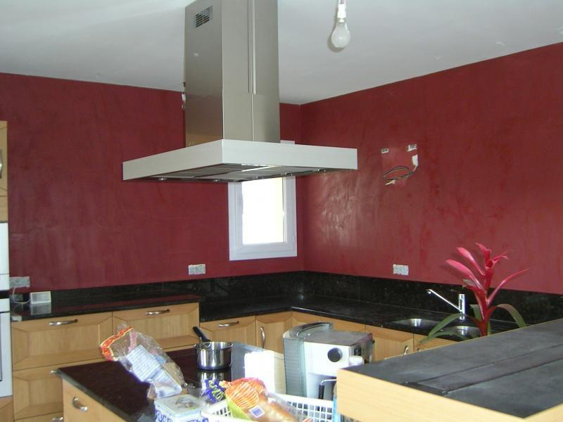 photo decoration cuisine peinture. Black Bedroom Furniture Sets. Home Design Ideas
