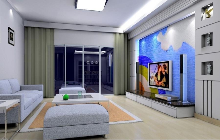 Simple living room interior design photos for Simplistic interior design