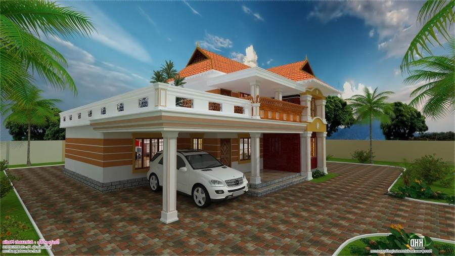 To know more about this villa, contact [House design Kollam] Plan...