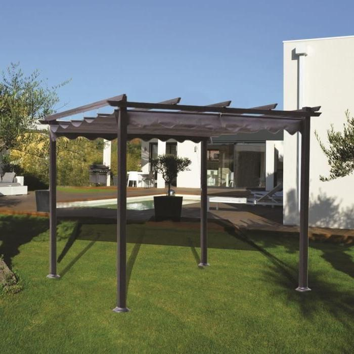 pergola alu photo. Black Bedroom Furniture Sets. Home Design Ideas