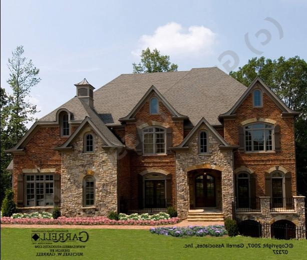 Photos of houses with brick stone combinations for Brick and stone combinations