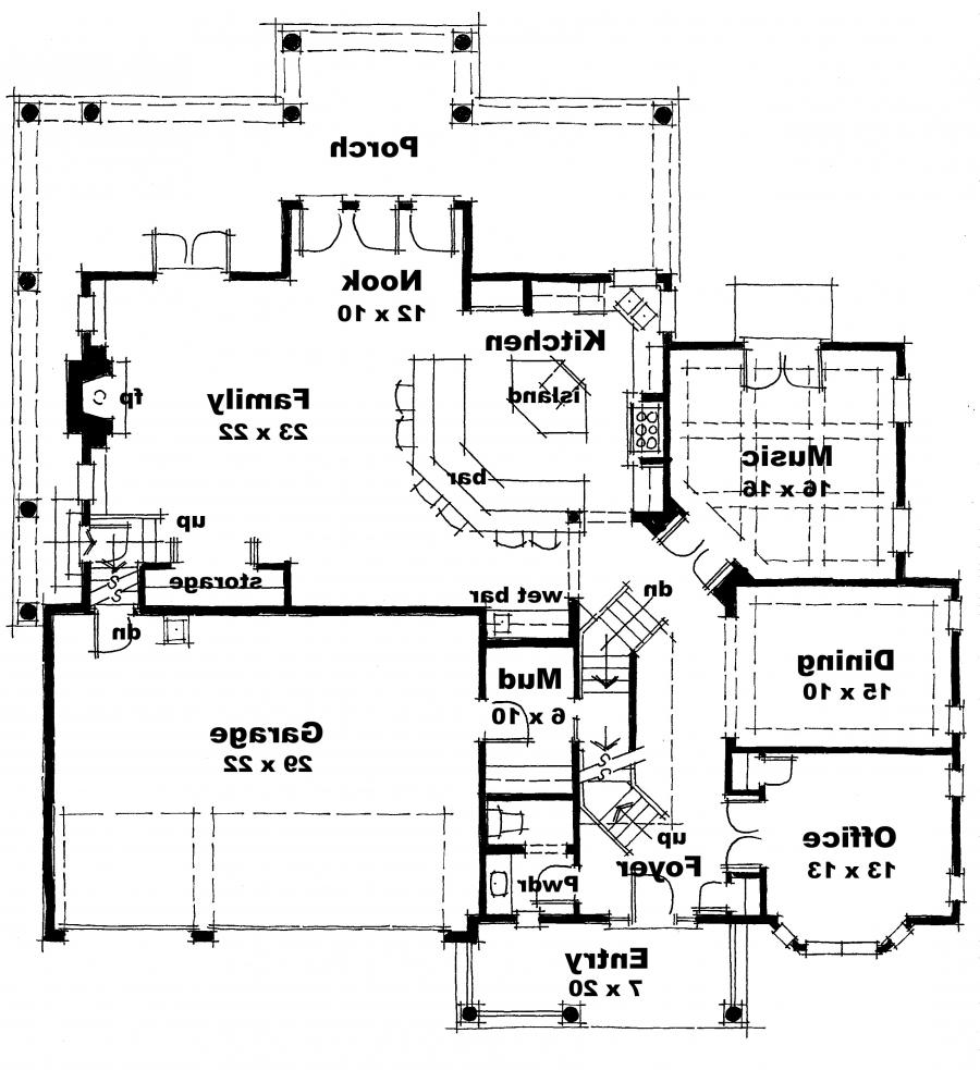 Modern Bamboo House Blueprints Modern House Floor Plans Photos