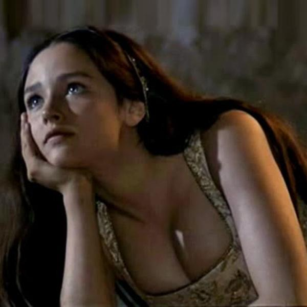The changing face of Juliet. Olivia Hussey