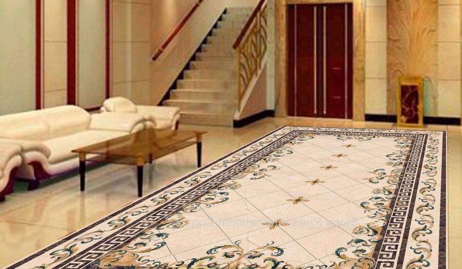 You can download Stunning Marble Flooring Tile Design Ideas For...