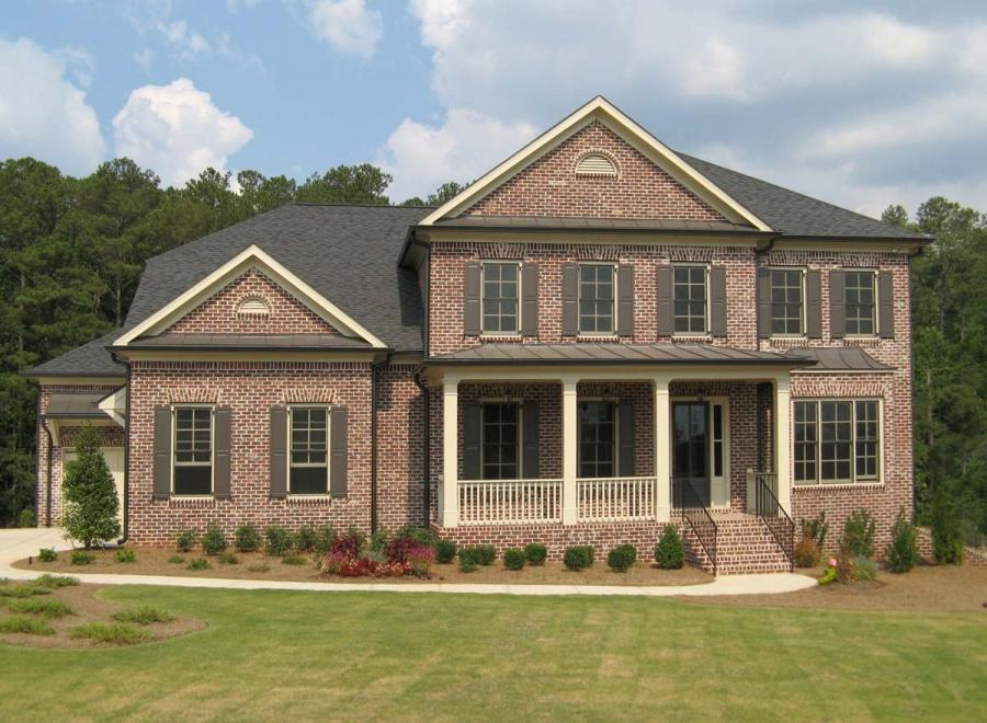 Photos of new brick homes for New brick homes