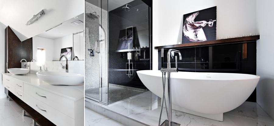 Interiors Photography: All White bathroom by Groupe Rono,...