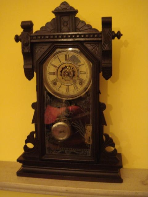 Fossil evidence dating english antique clock