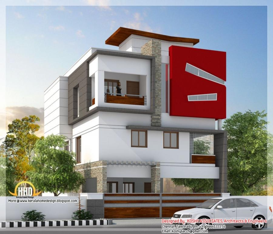 House front elevation photos tamilnadu for Bedroom designs tamilnadu