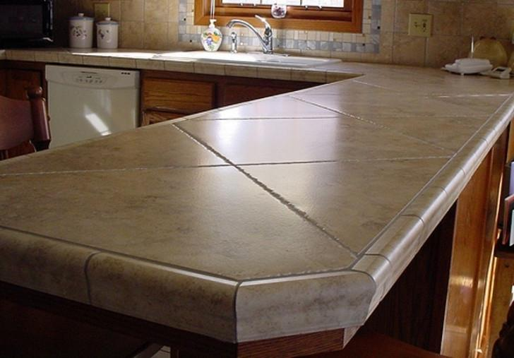 Porcelain kitchen countertops photos for Kitchen ideas with porcelain countertops