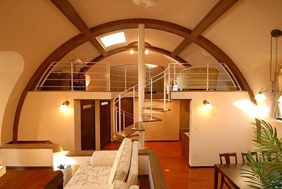 Dome House Interior Photos