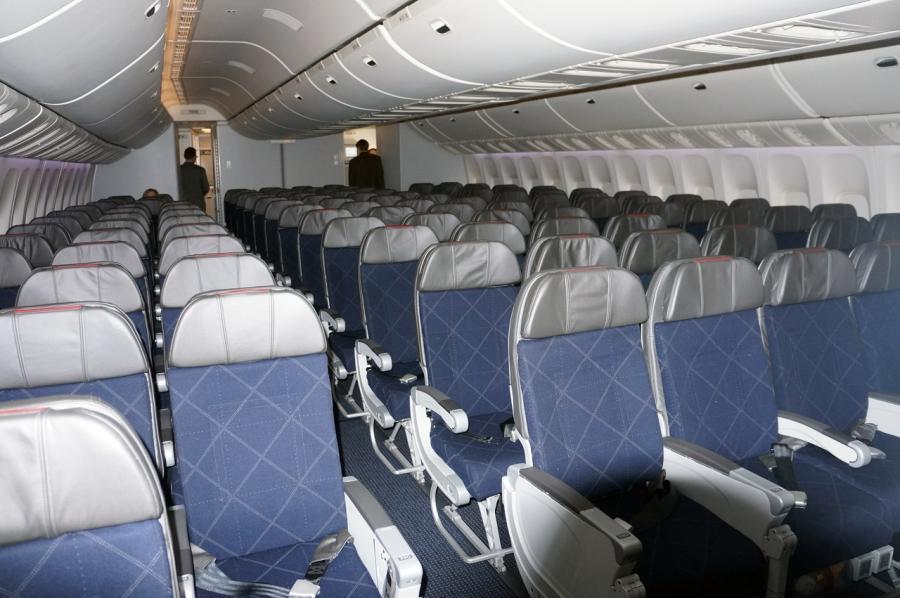 Air New Zealand Interior Photos