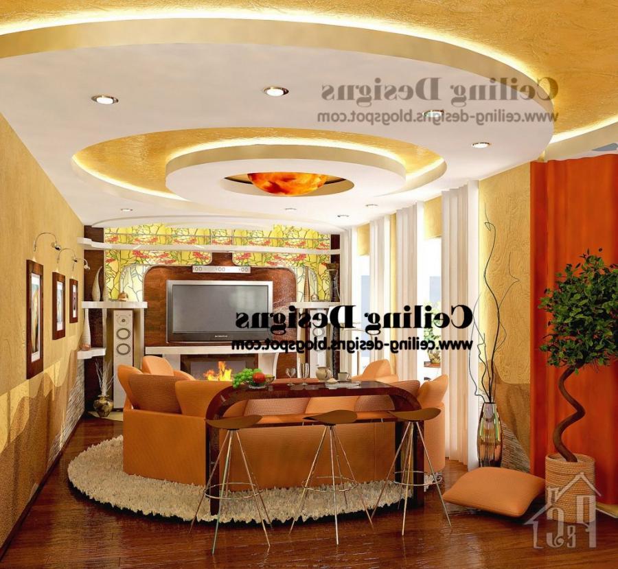Pop ceiling designs for living room photos for P o p ceiling living room