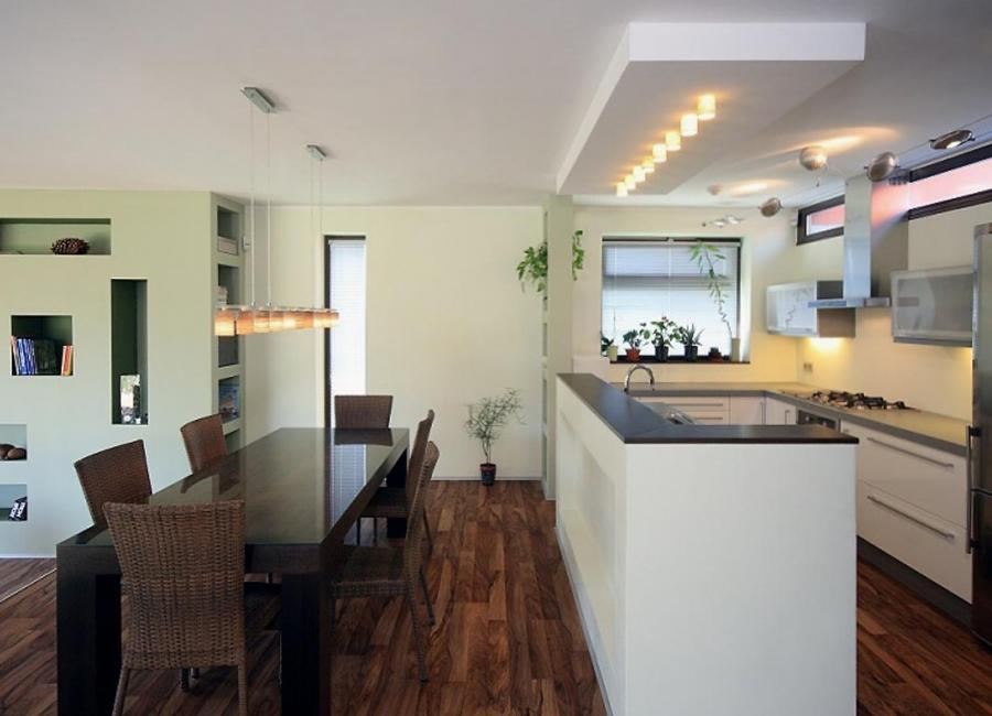 ... simple modern kitchen dining interior contemporary house ...