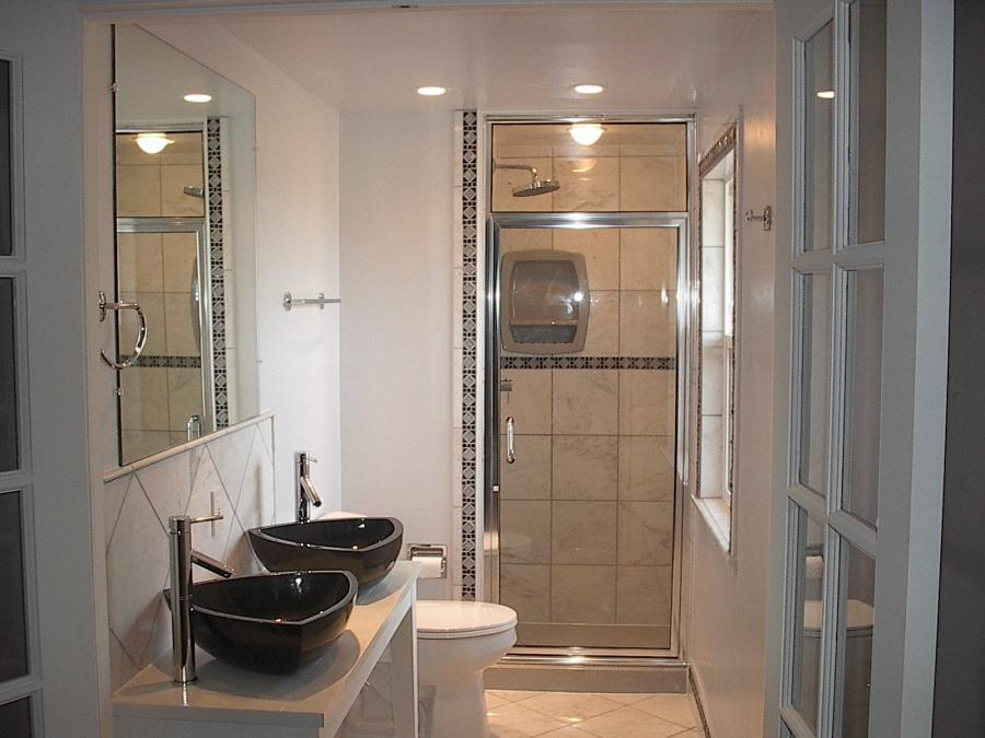 Bathroom ideas photo gallery small spaces Bathroom remodel ideas with stand up shower