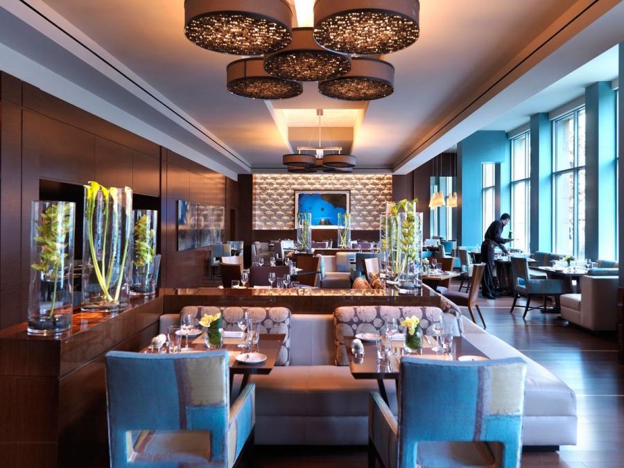 Photos of restaurant interiors