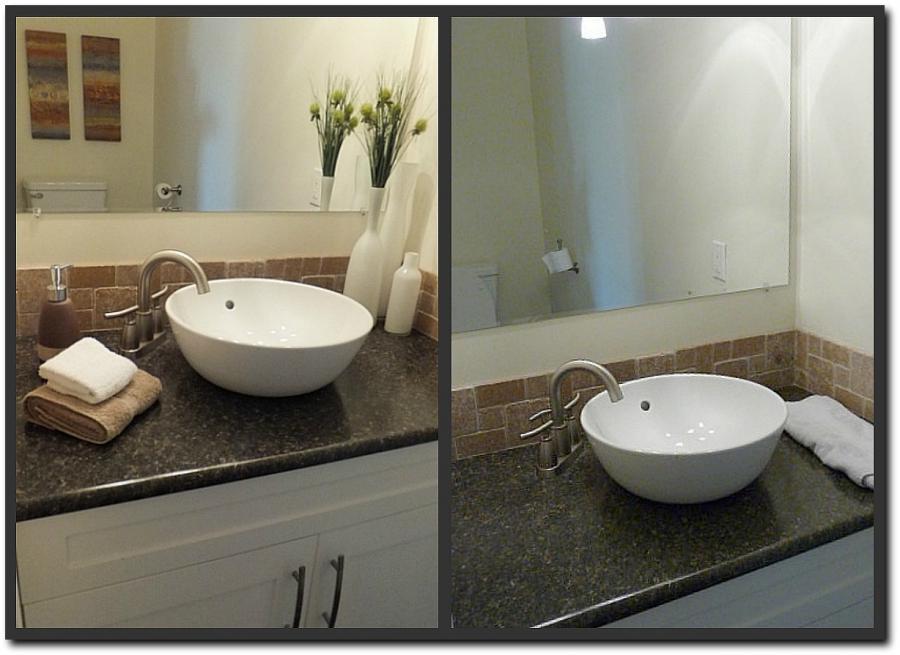 Bathroom staging photos for Bathroom designs edmonton