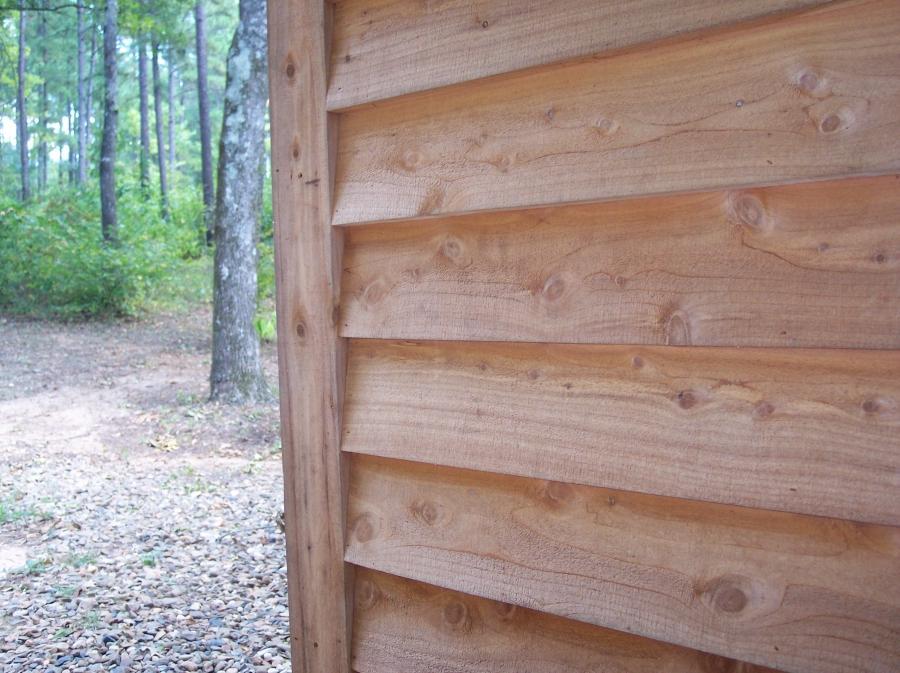 Cedar Plank Siding Photo