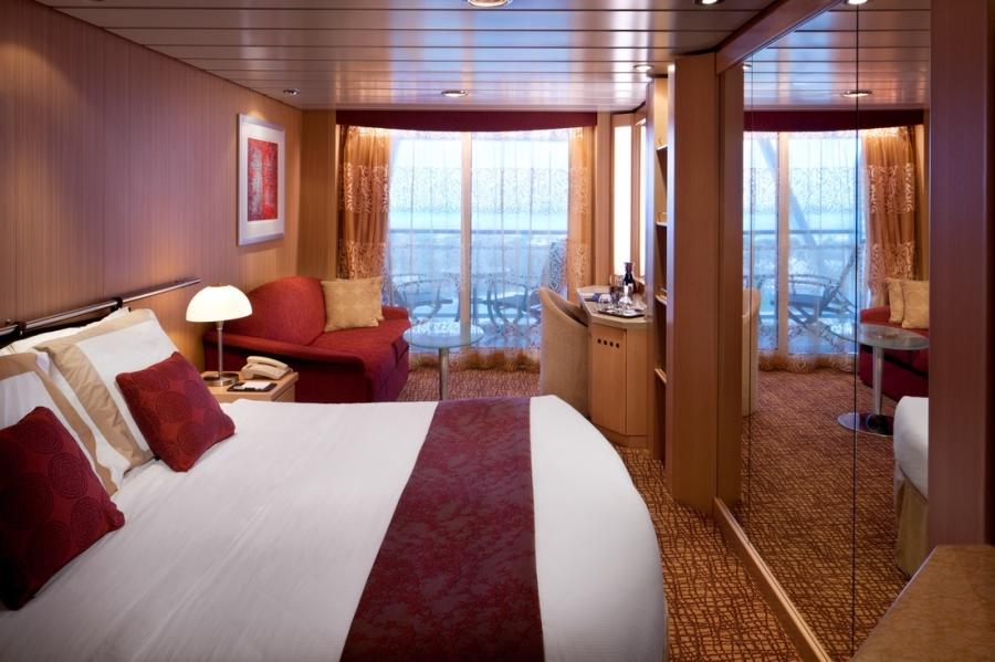 Celebrity solstice stateroom photos for Alaska cruise balcony room