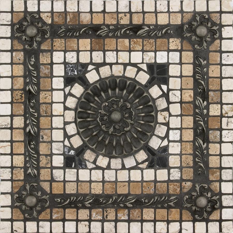 Fresco tile photo for Custom mosaic tile mural