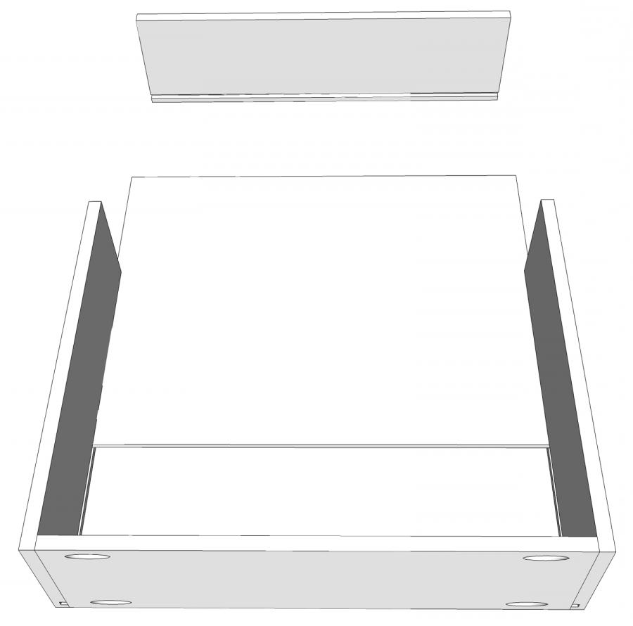 4x6 Photo Cabinet With Drawers