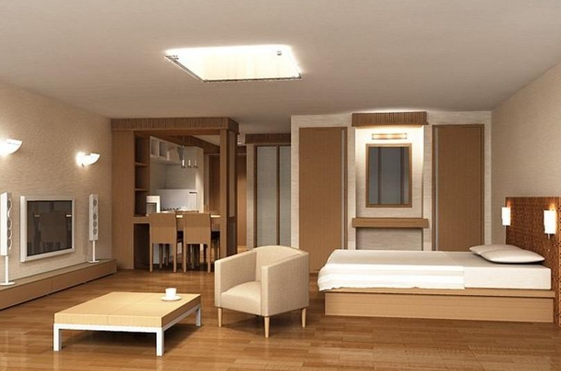 Cozy bedroom Interior Design 3D