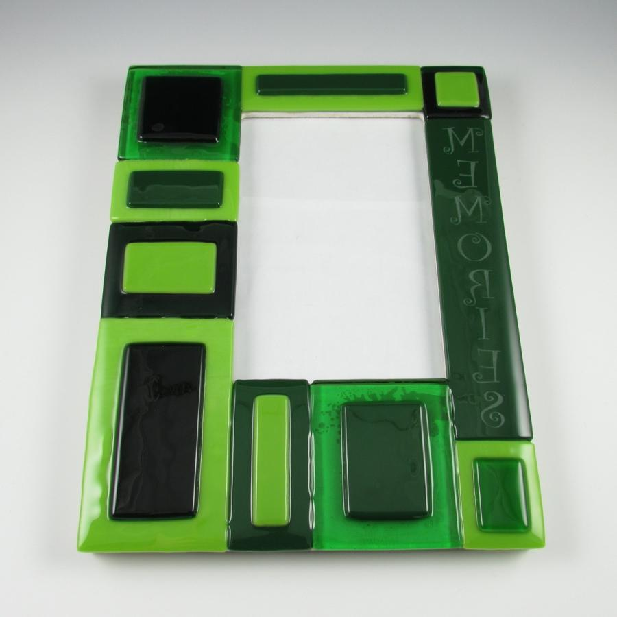 Fused glass photo frame tutorial