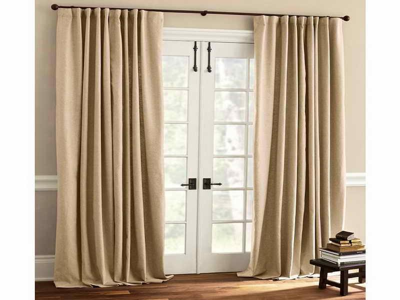 ... Picture of French Door Window Treatments ...