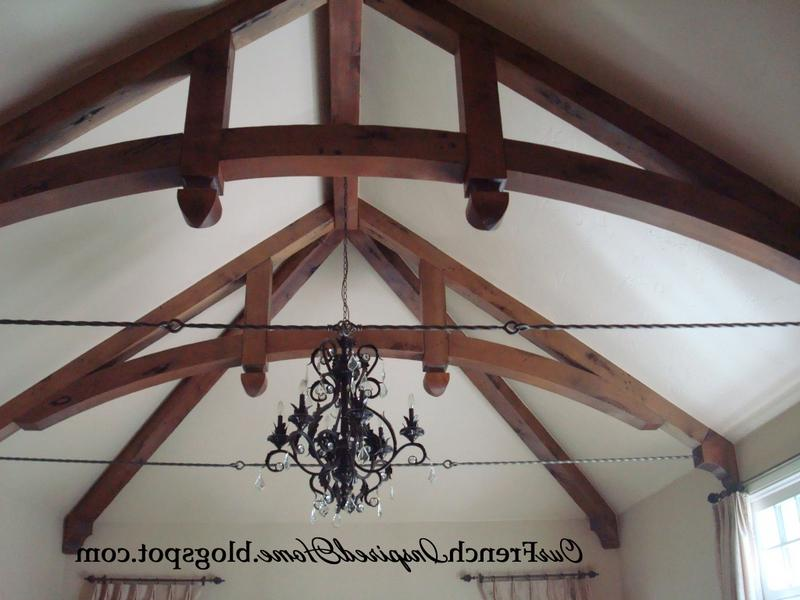 Rustic Ceiling Beams: Old World Ceiling Design