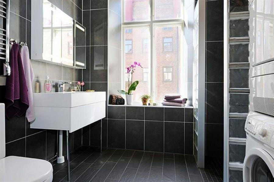 Black Classy Bathroom Plans listed in: Small Bathroom Makeovers...