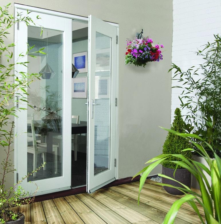 French doors exterior open out 100 aluminium french doors for Screens for french doors that open out