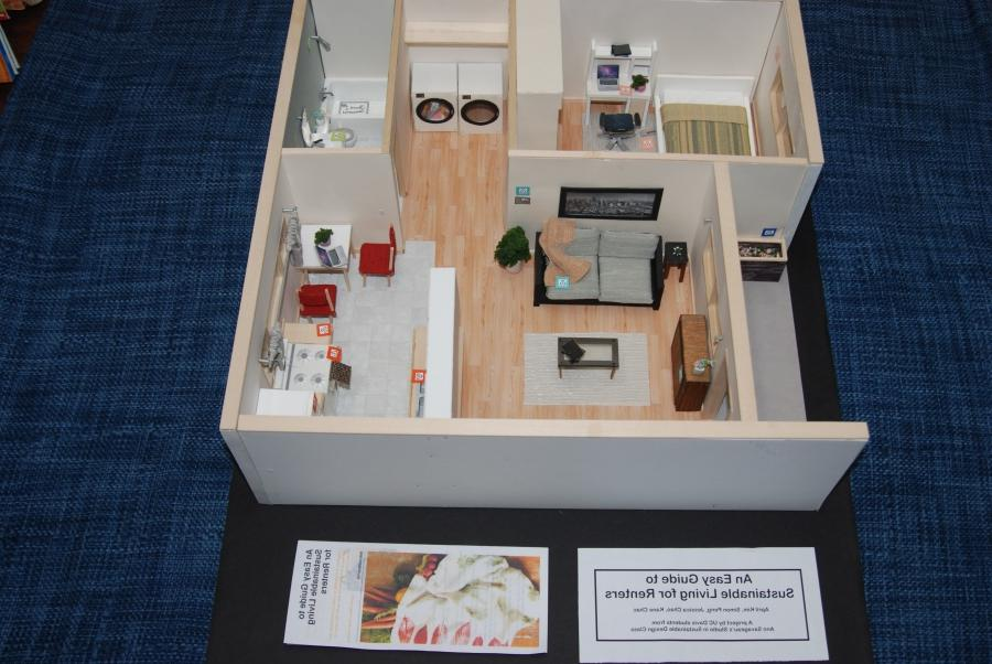 Four UC Davis students from the Studio in Sustainable Design...