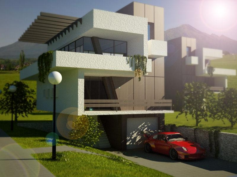 Contemporary Houses Pictures