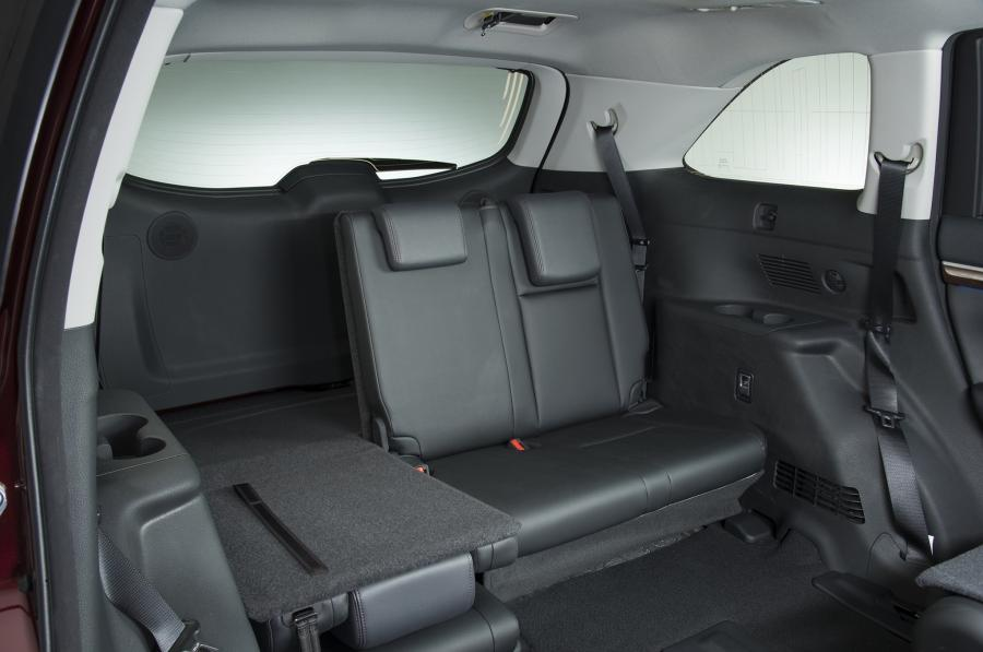 2014 toyota highlander interior cargo space view car. Black Bedroom Furniture Sets. Home Design Ideas