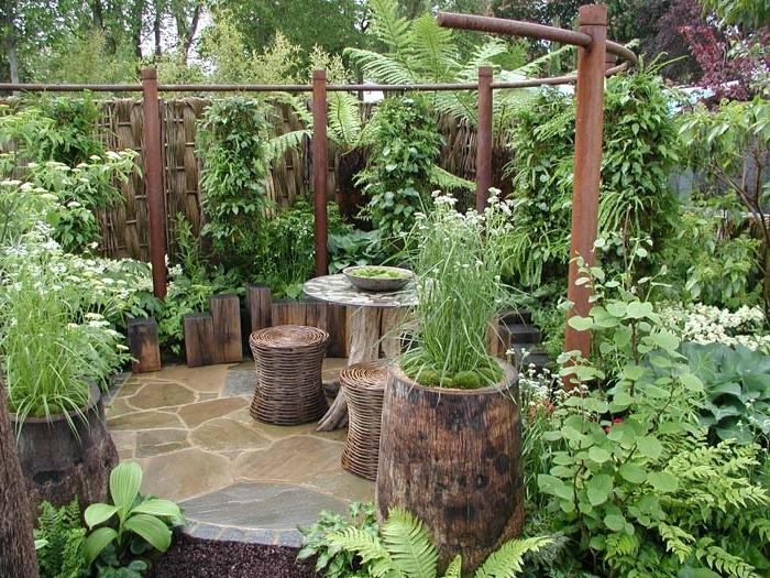Красивый сад и огород идеи фото своими руками