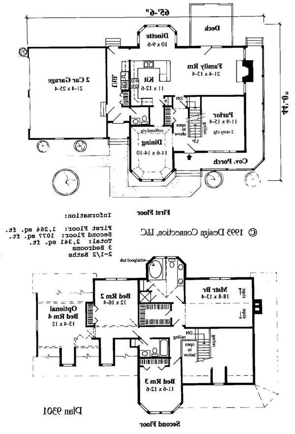 Small Victorian House Plans Home Design DC 9301 3764 Source