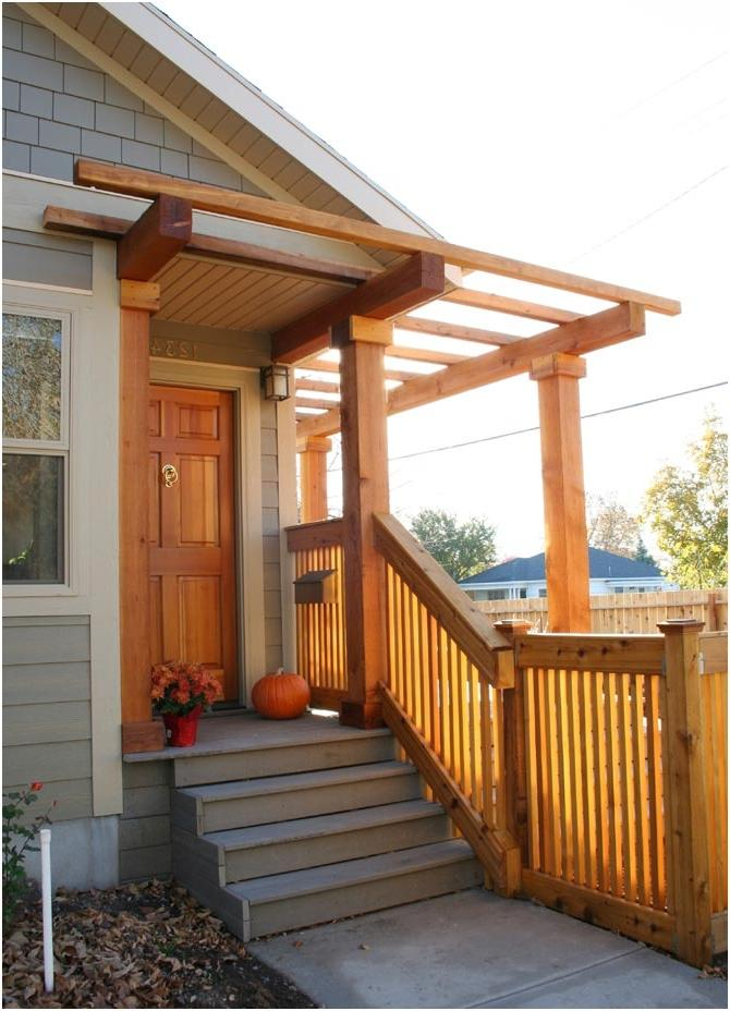 Front Porch Remodel on Cottage Home