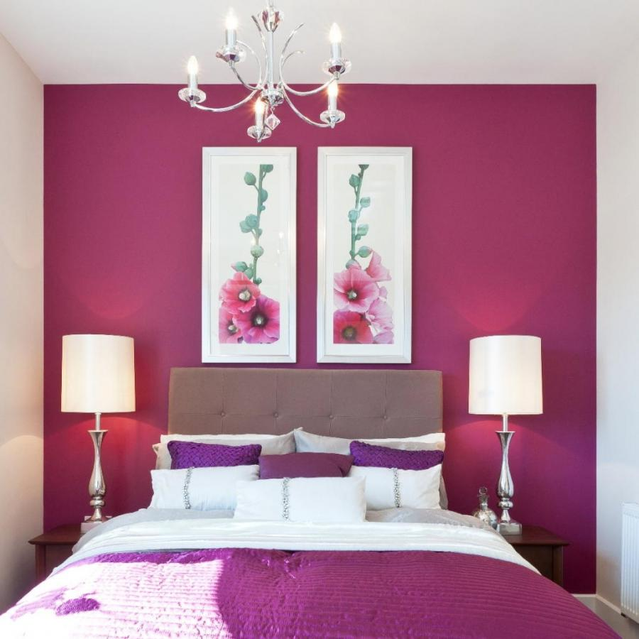 Purple And Pink Bedroom: Photos Of Pink And Purple Bedrooms