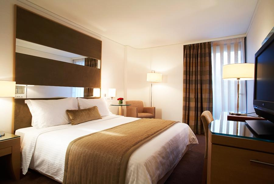 Galaxy Hotel Superior Room double bed Galaxy Hotel in Iraklio...
