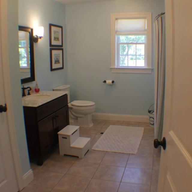 Brown blue bathroom photos for 2nd bathroom ideas