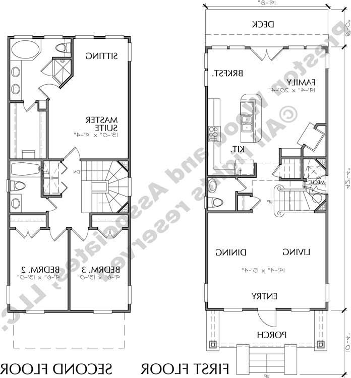 Small Cottage Floor Plans Urban Infill Small Cottages To