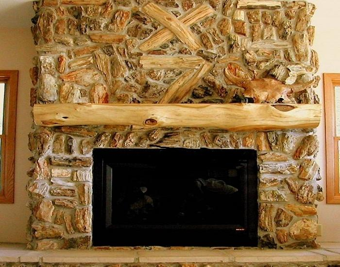 Rustic Fireplace Design Photos