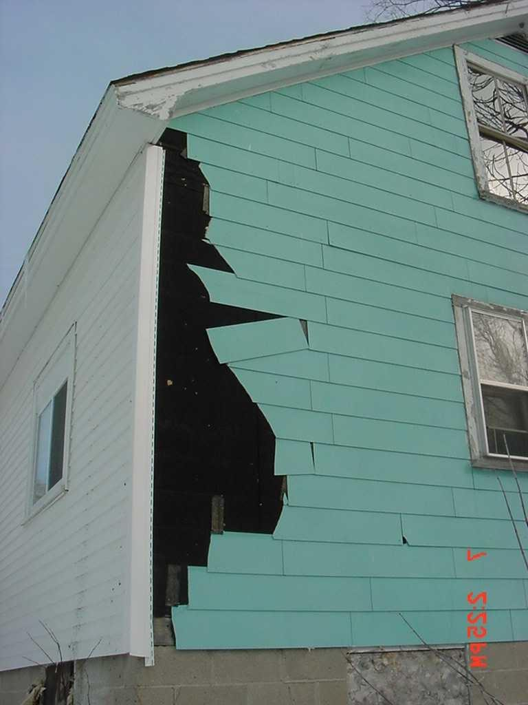 Asbestos Siding Photos