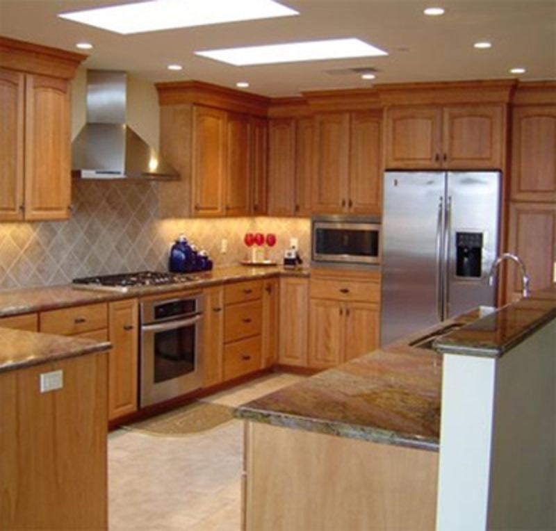 Kitchen Maple Cabinets Photos