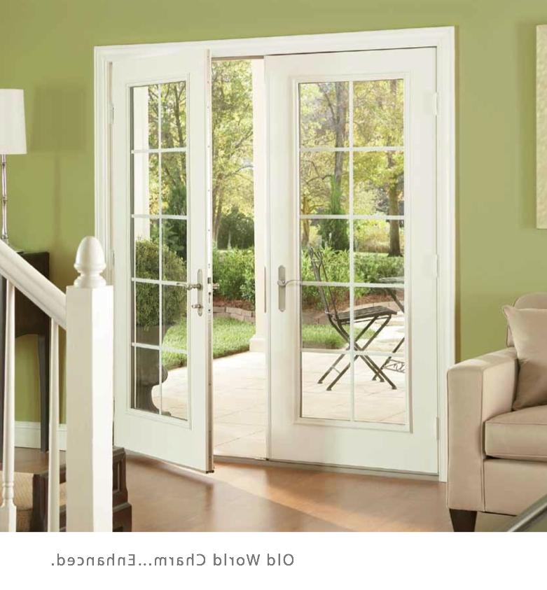 French Swing door has the style you want and the strength,...