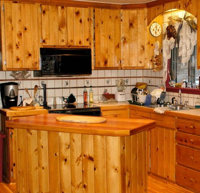 Knotty Pine Cabinets: Photos Of Knotty Pine Kitchens