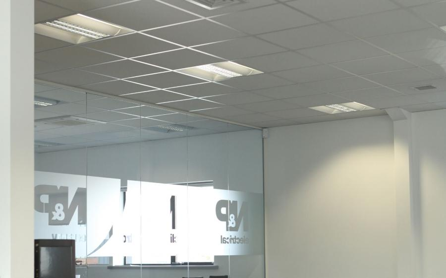 Suspended Ceiling Framework; NP Electrical Ceiling; NP Climate...